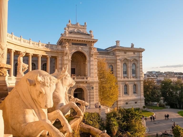 The Palais Longchamp, home to the Musée des Beaux Arts in Marseille
