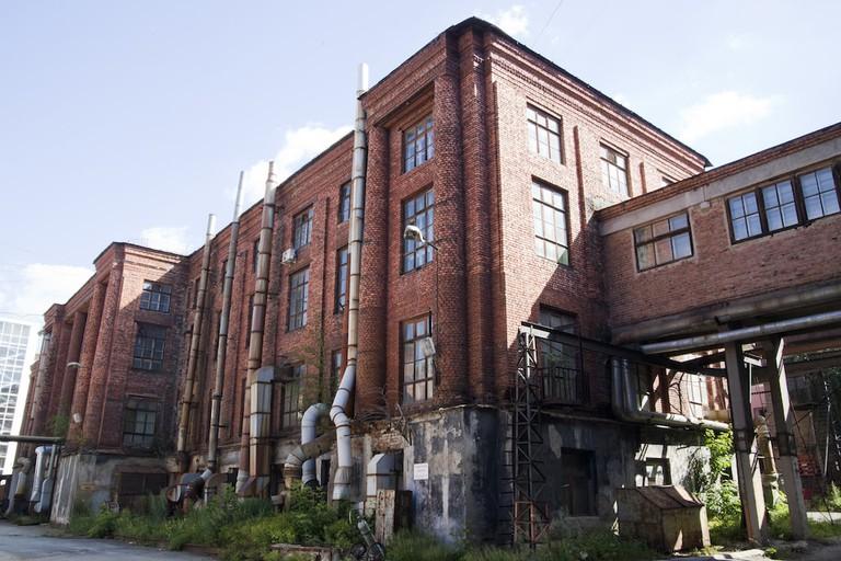 Venue of the 4th Ural Industrial Biennial. Ural Instrument Making Plant