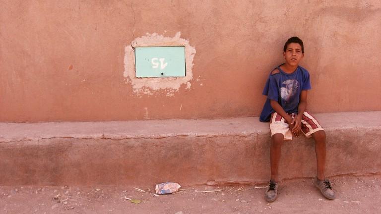 Young Moroccan boy