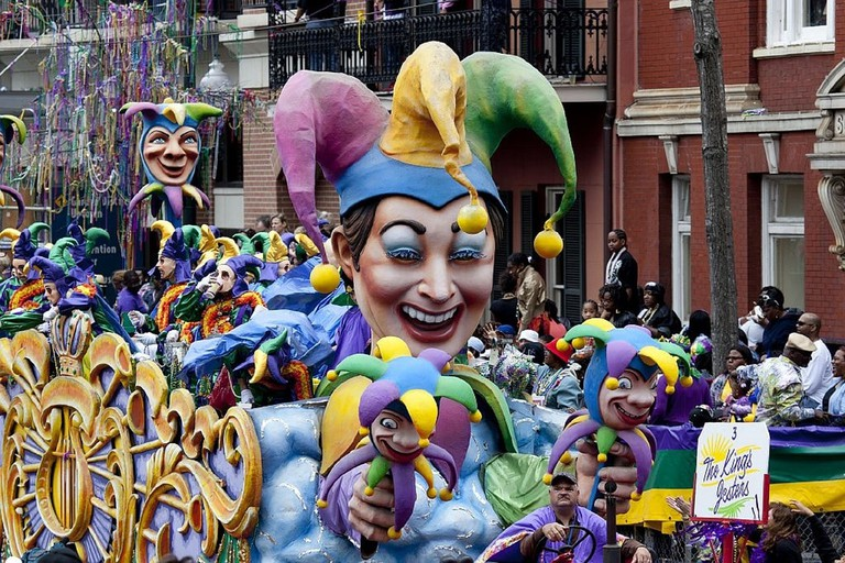 New Orleans' Mardi Gras | public domain / Pixabay