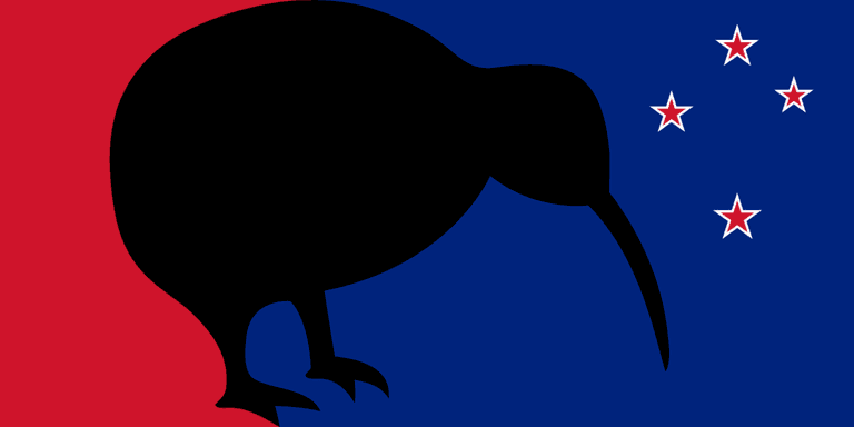 One of the Proposed Designs From New Zealand's Most Recent Flag Change Referendum