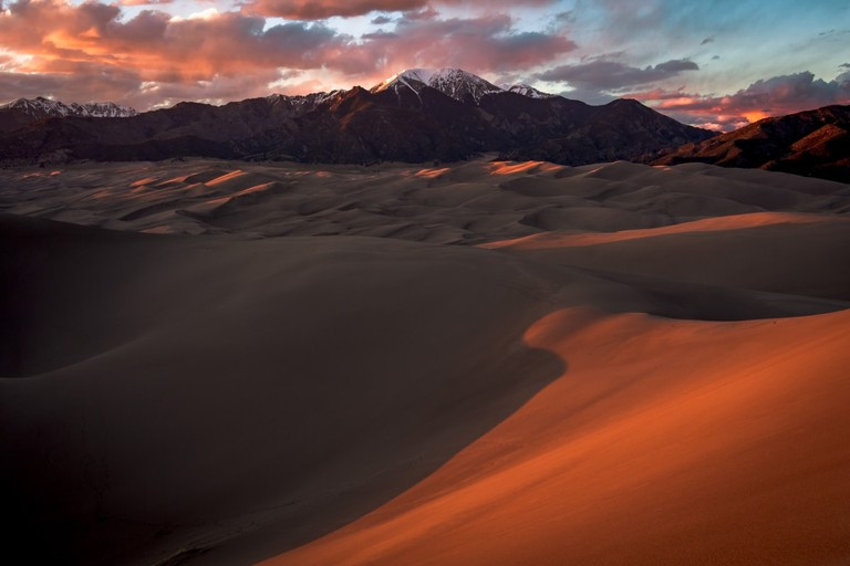 Sand Dunes and Vallecito