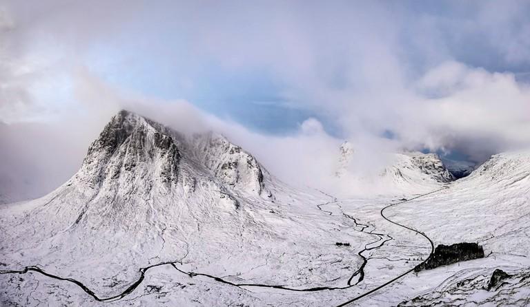 Glen Coe Snow