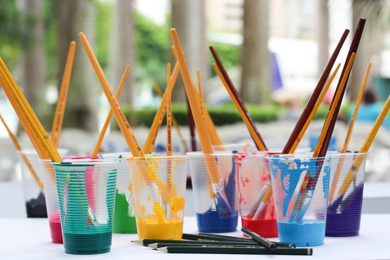 Paintbrushes | © Jadson Thomas/Pexels