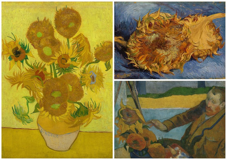 Vincent van Gogh, Still Life: Vase with Fourteen Sunflowers, 1888