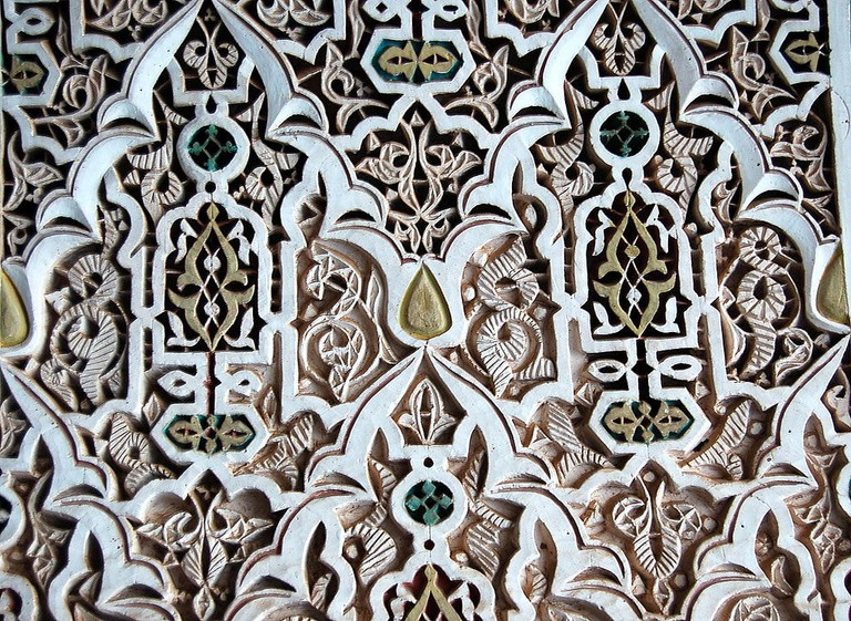Moroccan plasterwork