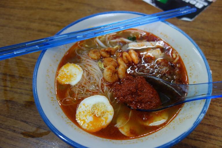 Prawn Mee in Penang