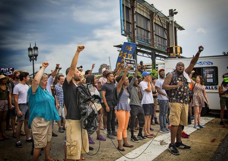 Black Lives Matter rally | © Bruce Emmerling/Pixabay