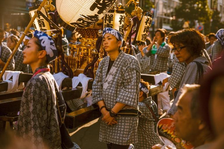 The beautiful garments and shrines of Kichijoji festival | Mithila Jariwala / © Culture Trip