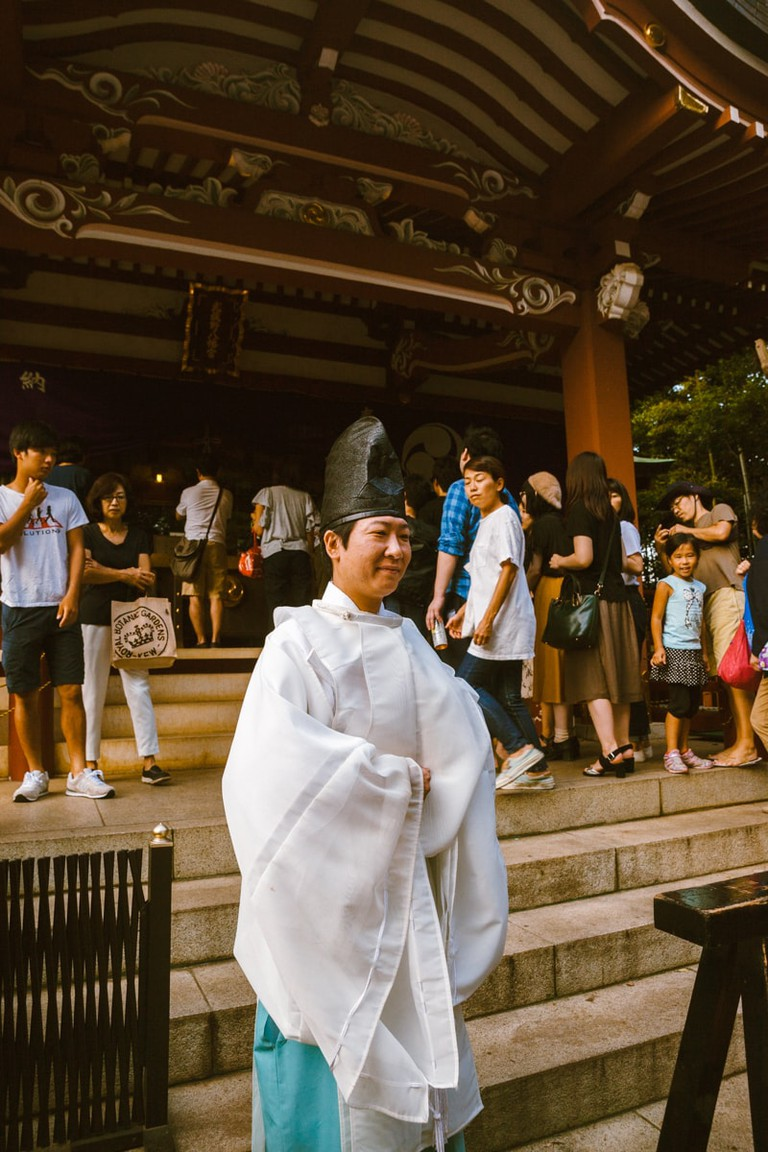 Shinto Priest at Kichijoji Festival | Mithila Jariwala / © Culture Trip