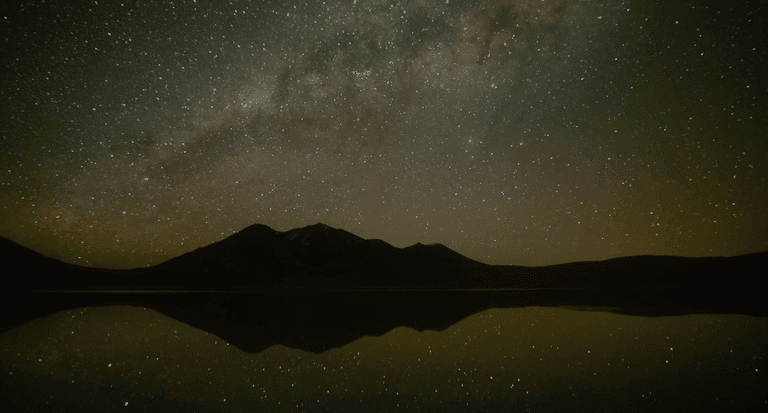 Celestial reflection