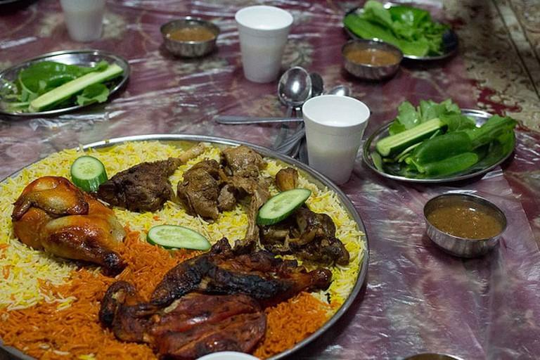 Local Emirati food