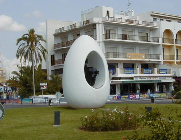 Antonio Hormigo's 'Egg'   © Flups / Wikimedia Commons