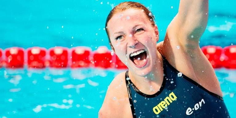 Olympic champ and all around swimming star Sarah Sjöström