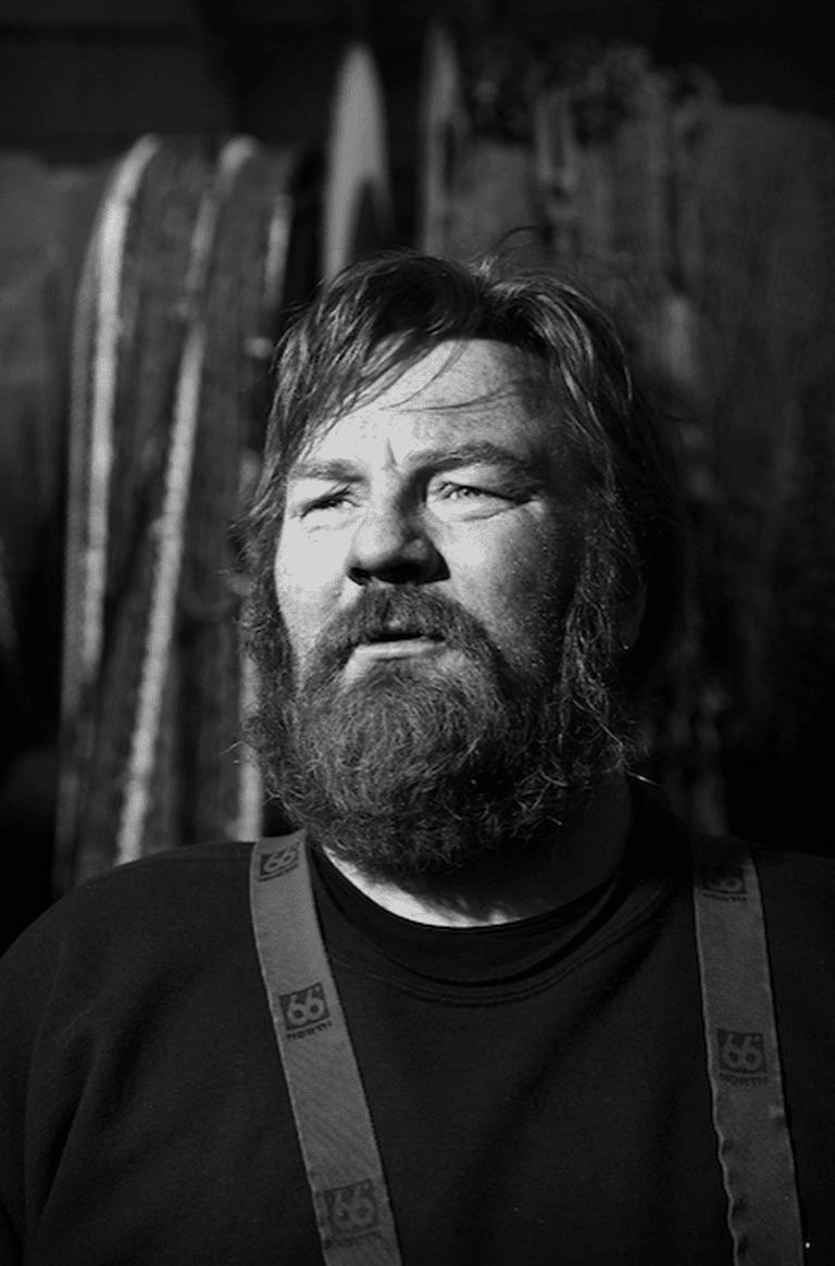 Jens, deckhand on the fishing vessel, Frár ve, from Vestmannaeyjar   Courtesy of Rúnar Þórarinsson