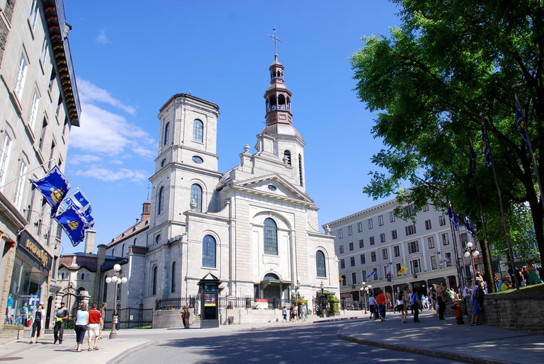 The Cathedral-minor basilica of Notre-Dame de Quebec