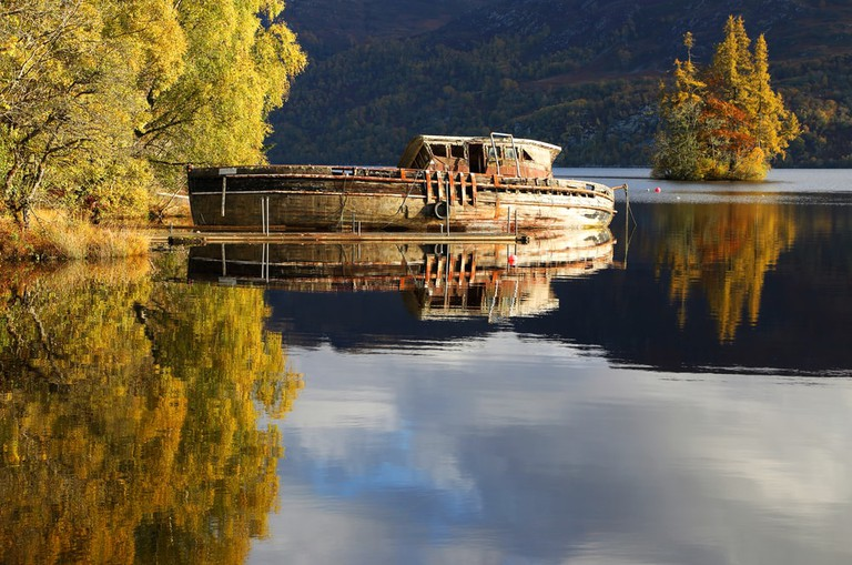 Scottish Shipwreck, Loch Ness