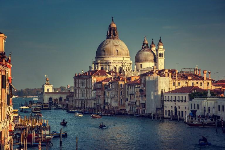 Basilica Santa Maria della Salute in the sunset, Venice | © Iakov Kalinin/Shutterstock