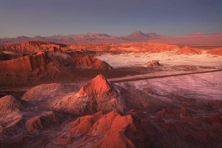 The surreal landscapes of the Valley of the Moon in the Atacama Desert