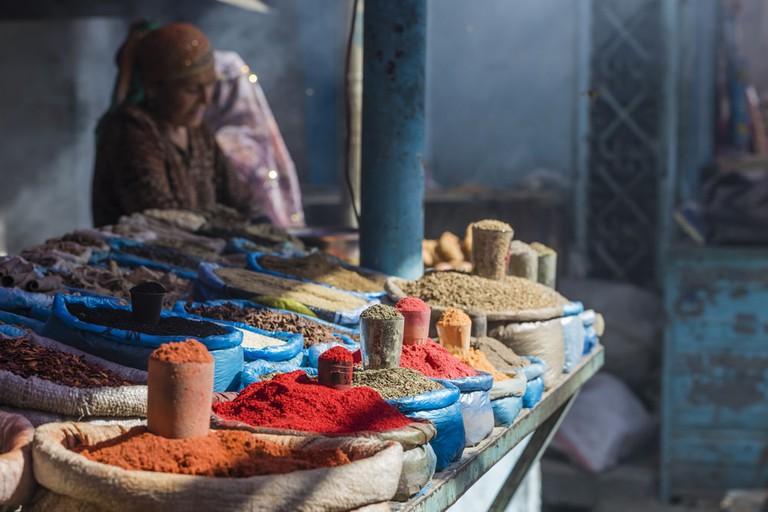 Spices of Osh Market in Bishkek, Kyrgyzstan | © Curioso/Shutterstock
