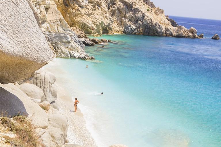 Seychelles Beach in Ikaria, Greece | © kostasgr/Shutterstock