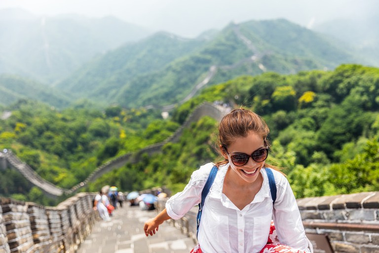 All smiles on the Great Wall | © Maridav/Shutterstock