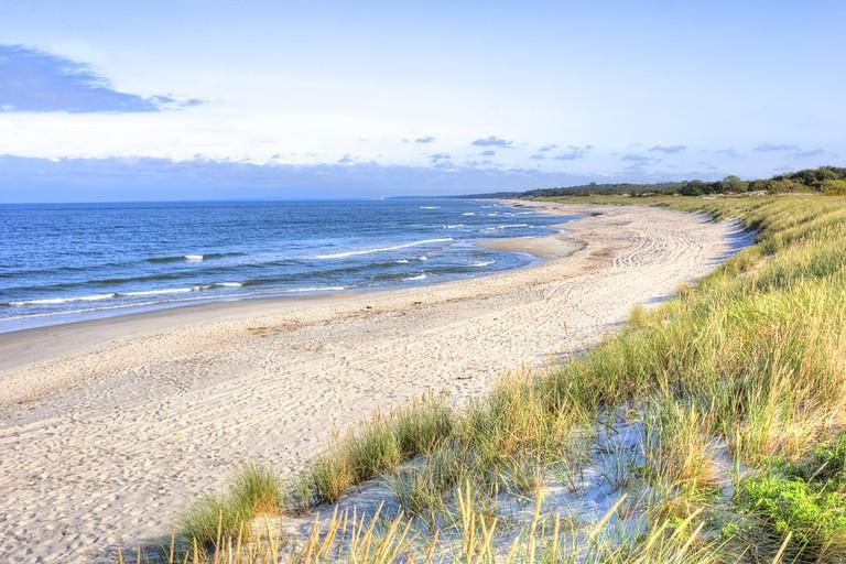 Beach near Baltiysk
