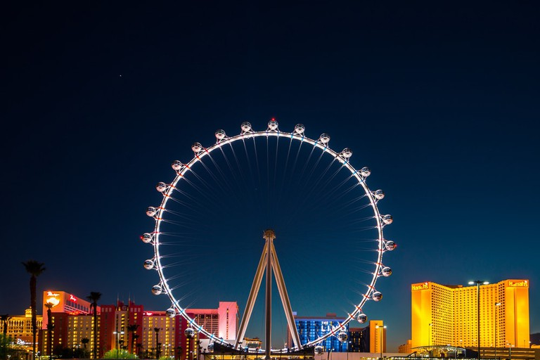 The Las Vegas High Roller at night | © Diana Gorita/Shutterstock