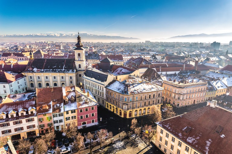 Overview of Sibiu, Transylvania, Romania | © Calin Stan/Shutterstock