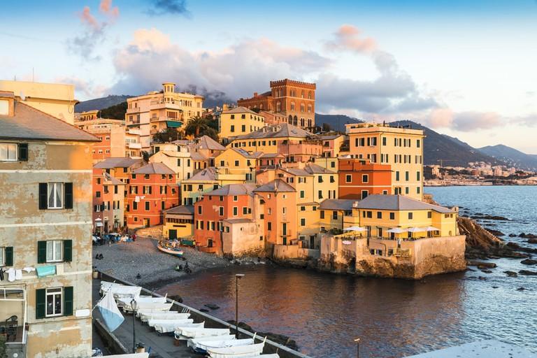 Genova Bocadasse Marina Italy | © Mark Pitt Images/Shutterstock