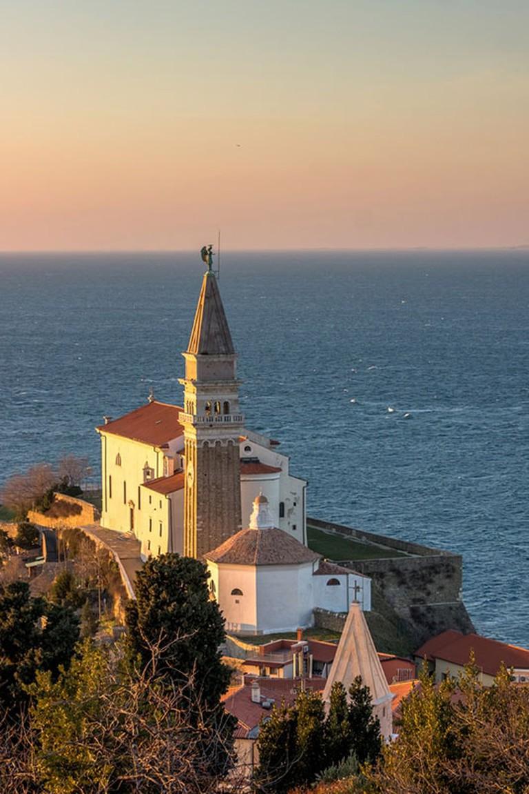 St. George's Parish Church in Piran | © Dani Vincek/Shutterstock
