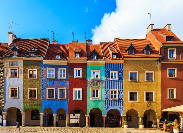 Main square in Poznan City