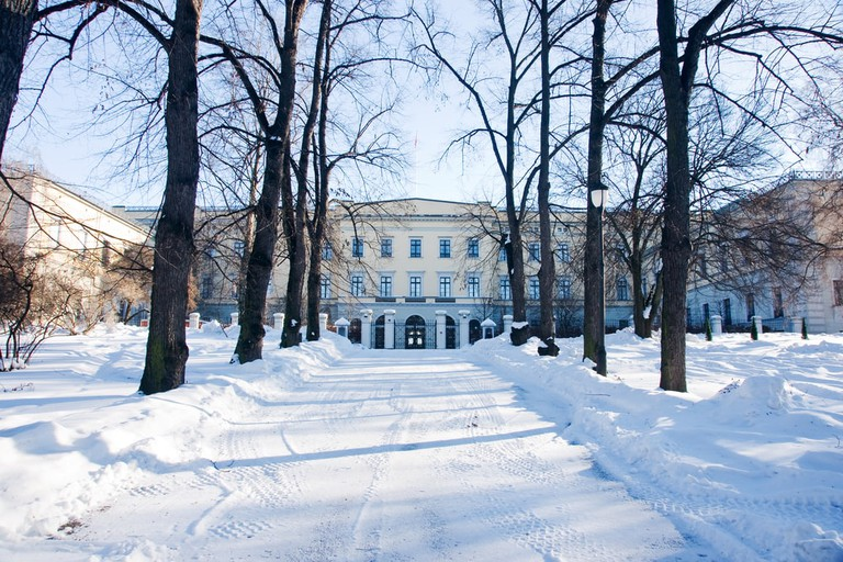 Oslo's Royal Castle in the snow | © byggarn.se/Shutterstock