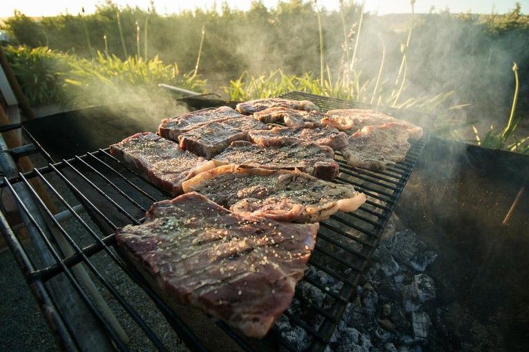 A South African Braai