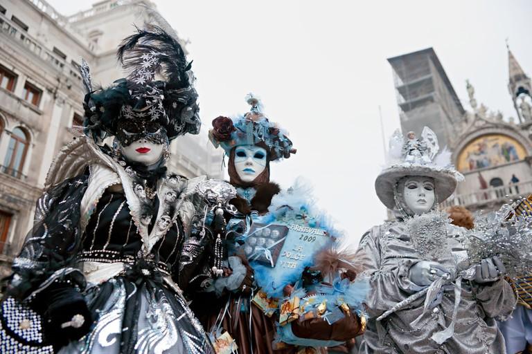 Venice Carnival in February