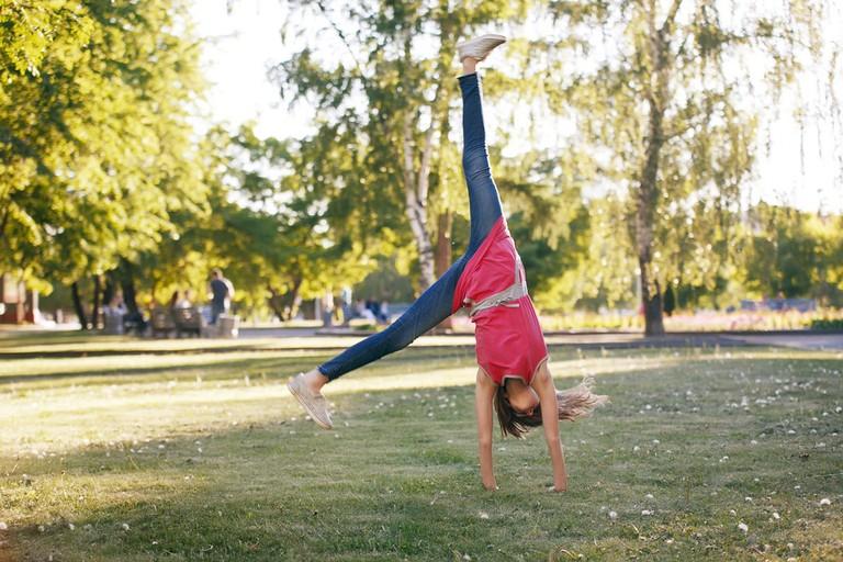 Cartwheel in the Park