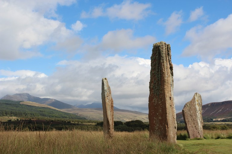 Ancient stones on the Isle of Arran | © James Oliver King/Shutterstock