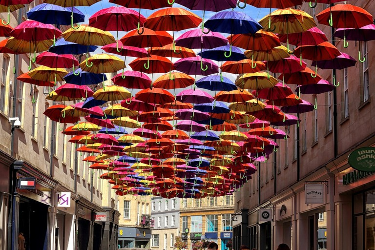 Southgate Umbrellas, Bath | © tviolet/Shutterstock