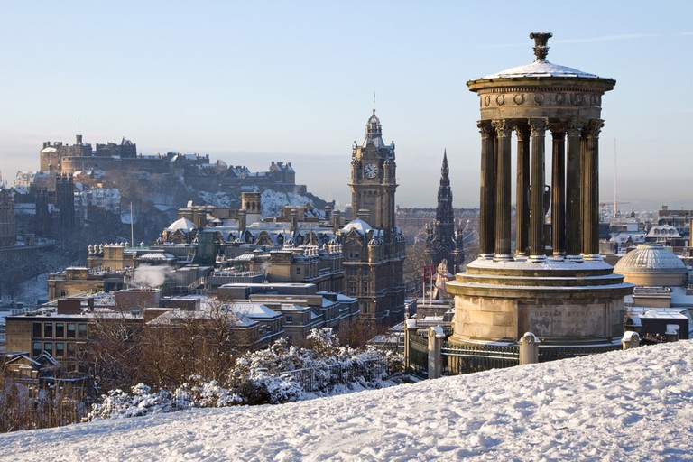 Edinburgh City and Castle, Scotland | © Heartland Arts/Shutterstock