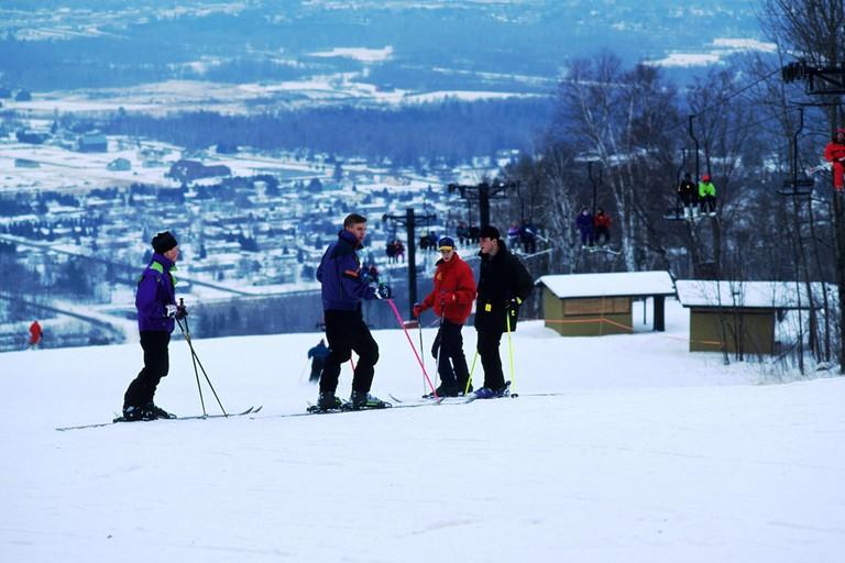 Snowy Rib Mountain
