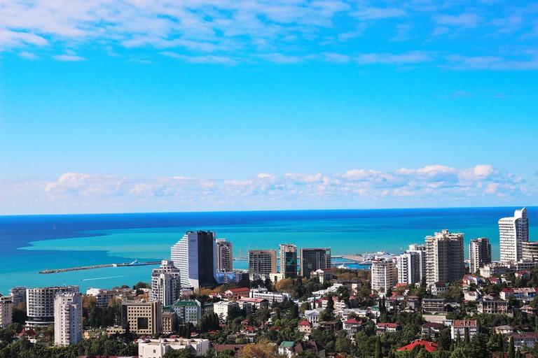 Fans visiting Sochi will get to enjoy Russia's premier Black Sea destination