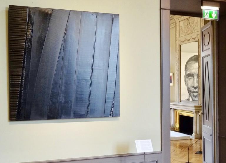 Exhibition 'Soulage' at Institut Culturel Bernard Magrez  