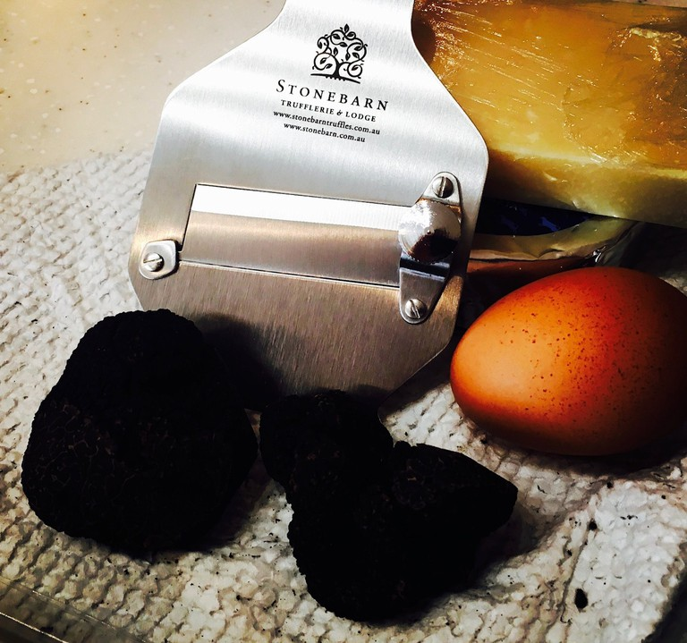 Western Australia has some of the best Perigord truffles in the world, like these ones from Stonebarn, photo taken by Carmen Jenner