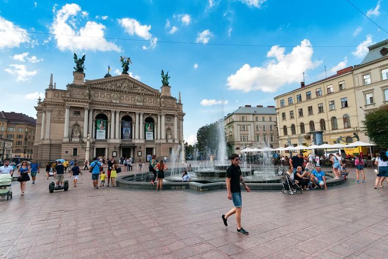 Lviv's Old Town