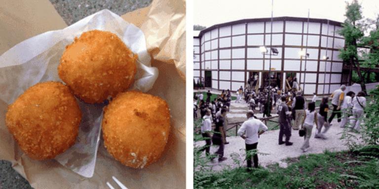 Street food | Gary Stevens/Flickr, Globe Theatre | globetheatreroma/Flickr