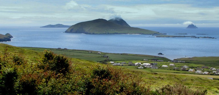 View of the Blasket Islands