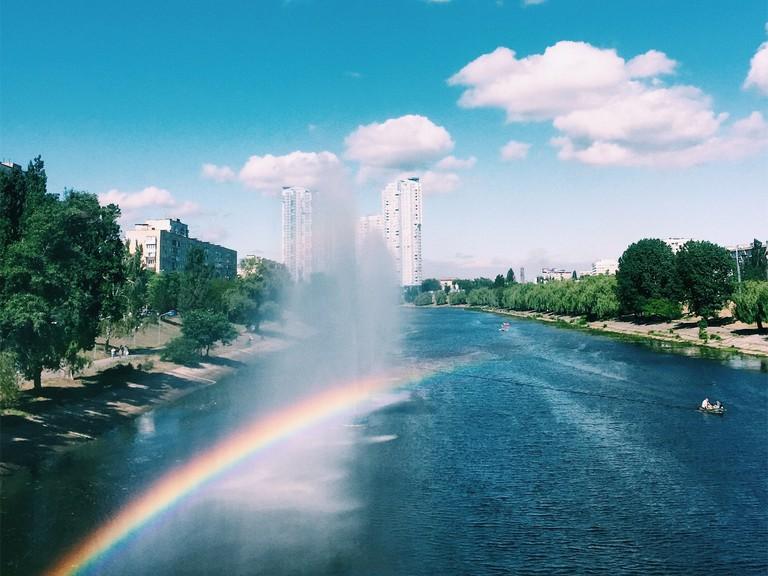 Rusanivka fountains