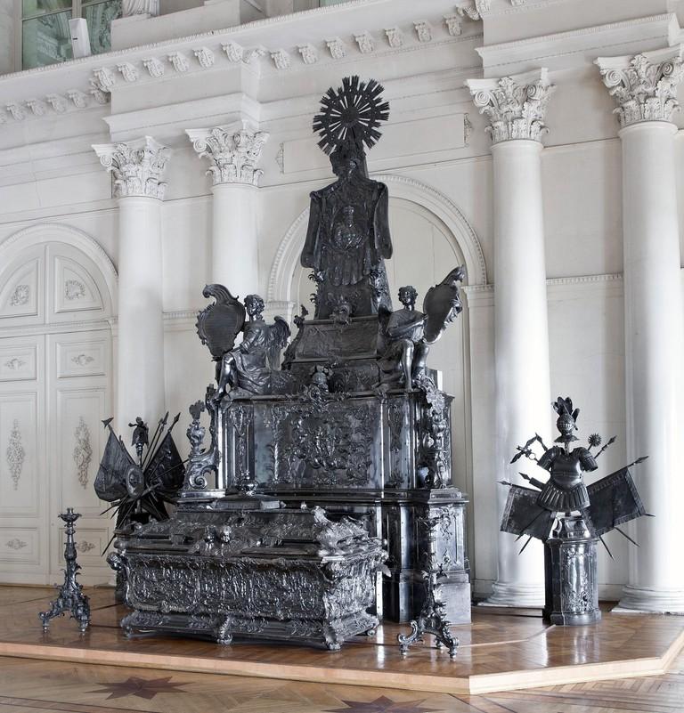 Sarcophagus of Alexander Nevsky