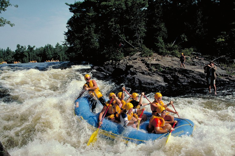 Whitewater Rafting Ottawa River | © OTMPC