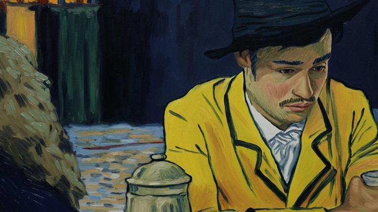 Douglas Booth in 'Loving Vincent'